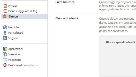 sbloccare persone su Facebook