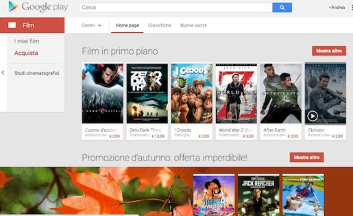 film streaming su google play