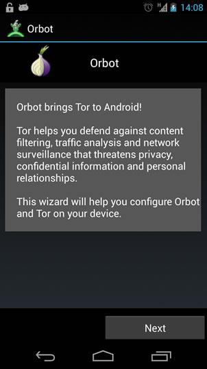 Navigare anonimi con Android