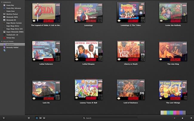 Emulatore per Mac di videogames anni '80