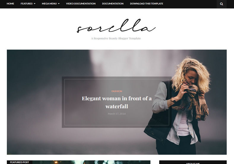 Sorella-Blogger-Template