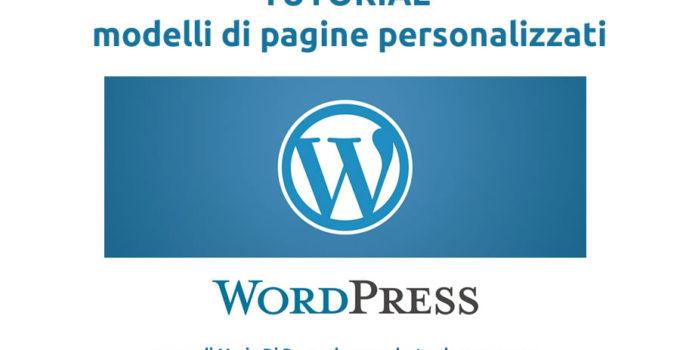 wordpress-tutorial-pagine-personalizzate