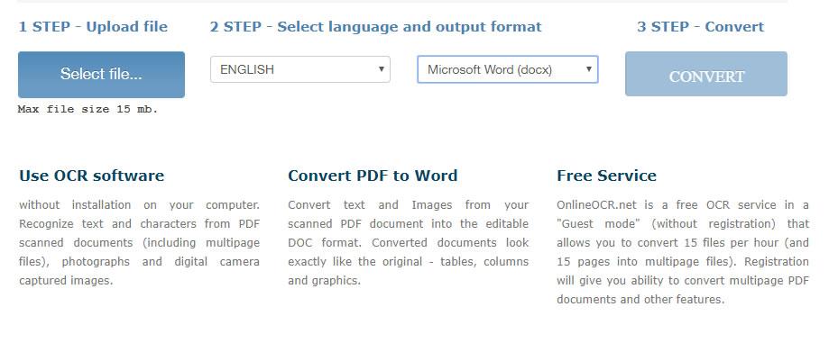 Estrarre testo da PDF
